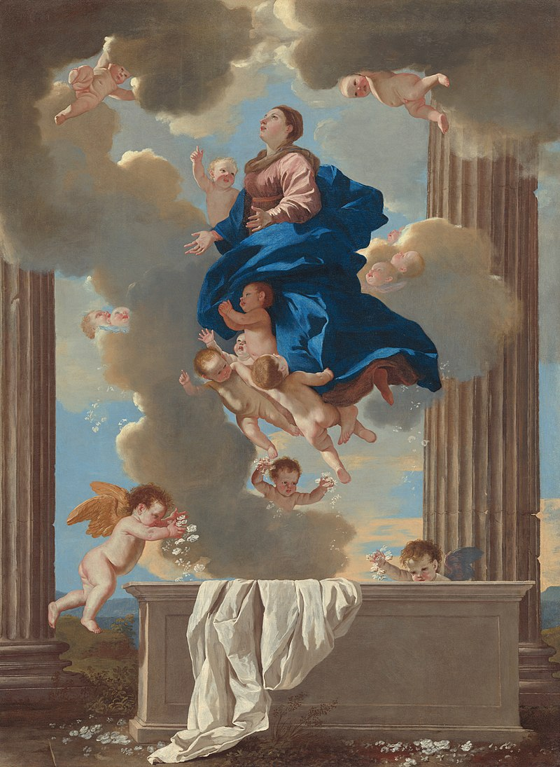 800px-Nicolas_Poussin_-_The_Assumption_of_the_Virgin